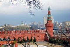 Moskou het Kremlin Kleurenfoto Royalty-vrije Stock Afbeeldingen