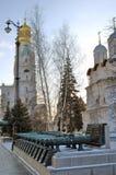 Moskou het Kremlin Kleurenfoto Royalty-vrije Stock Afbeelding