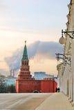 Moskou het Kremlin Kleurenfoto Royalty-vrije Stock Foto's