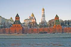 Moskou het Kremlin Kleurenfoto Stock Foto's