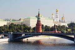 Moskou het Kremlin royalty-vrije stock foto's
