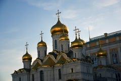 Moskou het Kremlin Het oriëntatiepunt van Moskou het Kremlin De Plaats van de Erfenis van de Wereld van Unesco royalty-vrije stock foto
