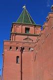 Moskou het Kremlin. Rusland stock foto