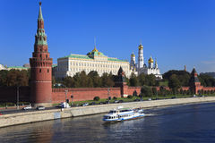 Moskou het Kremlin, Rusland. Royalty-vrije Stock Foto's