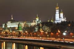 Moskou het Kremlin, Rusland. Stock Foto's