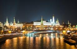 Moskou het Kremlin, Rusland royalty-vrije stock afbeelding