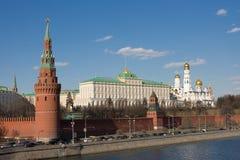 Moskou het Kremlin. Rusland Royalty-vrije Stock Afbeeldingen