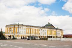 Moskou het Kremlin, Senaat, Rusland stock afbeelding