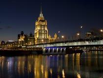 Moskou, hotel Stock Afbeelding