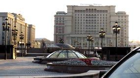 MOSKOU, Hotel Moskva Royalty-vrije Stock Foto's