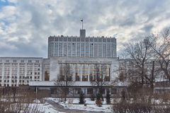 Moskou - 10 Januari 2017: Beeldhouwwerken in het park van MoscowMoscow Royalty-vrije Stock Foto's