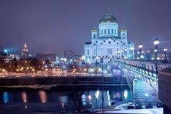 Moskou, kathedraal Stock Afbeeldingen