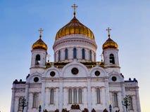 moskou Kathedraal van Christus de Redder royalty-vrije stock foto's