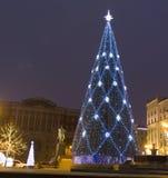Moskou, Kerstboom Royalty-vrije Stock Fotografie