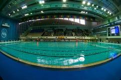 De Olympische Complexe Sporten van de pool Stock Afbeeldingen
