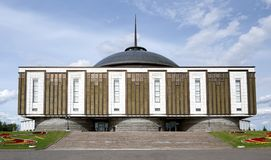 Moskou, Museum van de Grote Patriottische Oorlog royalty-vrije stock afbeeldingen