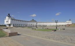 Moskou, Museum van de Grote Patriottische Oorlog van 1941-1945 stock foto