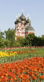 Moskou, orthodoxe kerk Stock Afbeeldingen