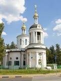Moskou, orthodoxe kerk Stock Fotografie
