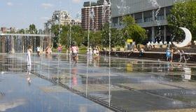 Moskou, park Museon royalty-vrije stock afbeeldingen