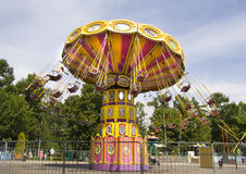 Moskou, park Sokolniki Royalty-vrije Stock Foto's
