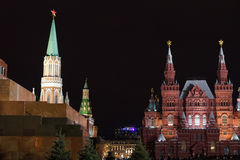 Moskou, Rood Vierkant stock fotografie