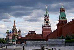 Moskou, Rood Vierkant Stock Foto
