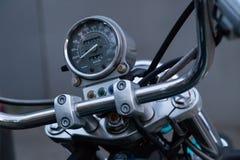 MOSKOU, RUSLAND - AUGUSTUS 17, 2018: De Schaduw Amerikaanse Klassieke Uitgave van motorfietshonda stock foto's