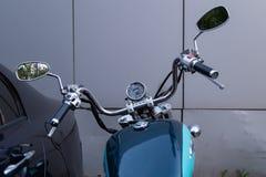 MOSKOU, RUSLAND - AUGUSTUS 17, 2018: De Schaduw Amerikaanse Klassieke Uitgave van motorfietshonda royalty-vrije stock afbeeldingen