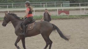 MOSKOU, RUSLAND - Augustus 12, 2016: Ruitercska-basis stock videobeelden
