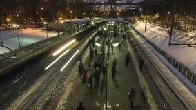Moskou; Rusland, Februari - eerst - Twee duizend zeventien jaar; afte royalty-vrije stock foto