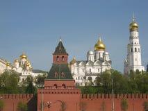 Moskou, Rusland, het Kremlin stock afbeeldingen