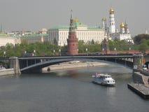 Moskou, Rusland, het Kremlin stock foto's