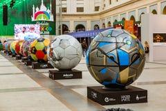 Moskou, Rusland, 20 Juni, 2018 Wereldbeker 2018, de streek van de voetbalventilator Royalty-vrije Stock Afbeelding