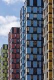moskou Rusland 17 Maart 2018 Flatgebouw Technopark Nieuwe complexe huisvesting stock foto