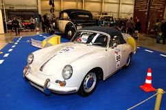 MOSKOU, RUSLAND - MAART 9: Porsche 356C 1964 in XXI Internati Stock Foto