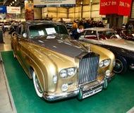 MOSKOU, RUSLAND - MAART 9: Rolls-Royce Zilveren Wolk III 1963 bij t Royalty-vrije Stock Foto
