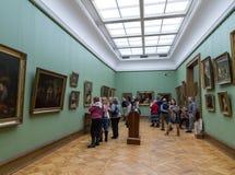 Moskou, Rusland - November 5, 2015: De Staat Tretyakov Art Gallery in Moskou royalty-vrije stock afbeelding