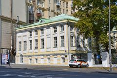 Moskou, Rusland, 01 September, 2018 E P r V r royalty-vrije stock foto's