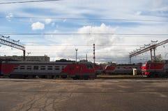 Moskou, Russische federale stad, Russische Federatie, Rusland Stock Fotografie