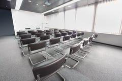 De ruimte van de conferentie in Sheremetyevo Stock Foto's