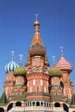 Moskou. St. de Kathedraal van het basilicum Stock Foto