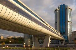 Moskou-stad commercieel centrum Stock Fotografie