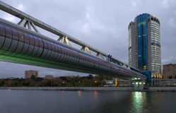 Moskou-stad commercieel centrum Royalty-vrije Stock Afbeelding