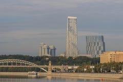 Moskou, stad, oriëntatiepunt, Stock Foto