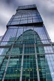 Moskou-stad Toren Hoofdstad Het centrum van zaken in Rusland Het leiden van financiële transacties MOSKOU RUSLAND Royalty-vrije Stock Fotografie
