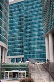 Moskou-stad Toren Hoofdstad Het centrum van zaken in Rusland Het leiden van financiële transacties MOSKOU RUSLAND Stock Foto's