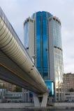 Moskou-stad, zaken, centrum, Royalty-vrije Stock Afbeeldingen