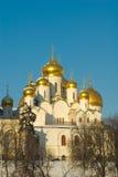 Moskou. Tempel Royalty-vrije Stock Afbeelding