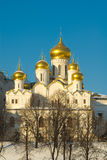 Moskou. Tempel Royalty-vrije Stock Foto's